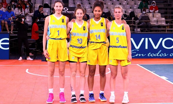Женская сборная Украины U-17 уступила в матче за третье место ЧЕ по баскетболу 3х3
