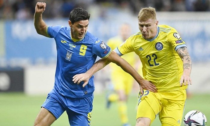 Яремчук признан «Львом матча» против Казахстана