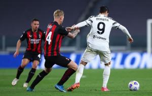 Ювентус — Милан 1:1 онлайн трансляция матча