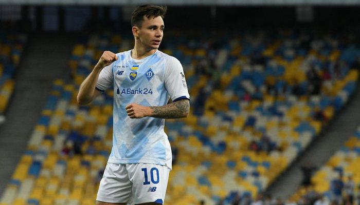 Шапаренко признан лучшим игроком Динамо в сентябре