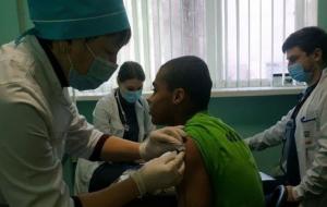 Футболісти Краматорська у повному складі пройшли перший етап вакцинації від COVID-19
