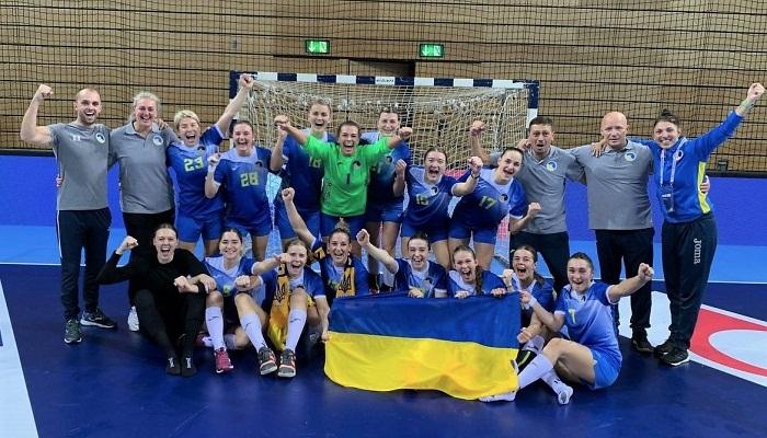 Женская сборная Украины по гандболу победила Хорватию на старте квалификации Евро-2022