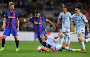 Динамо испугалось Барселону и плохо распорядилось своими шансами
