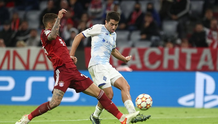 Новый контракт Де Пены с Динамо рассчитан до конца 2022 года — СМИ