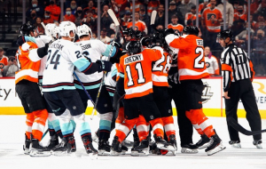 НХЛ: Филадельфия разгромила Сиэтл, минимальные победы Рейнджерс и Анахайма