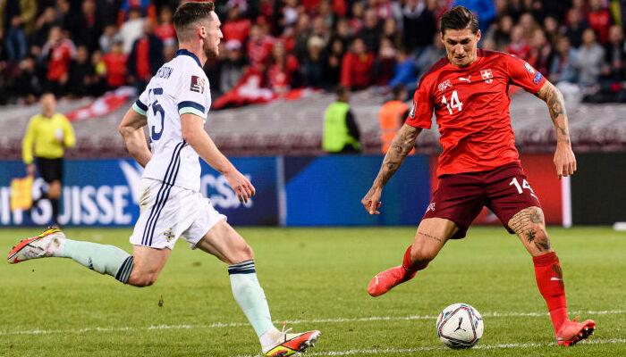 Швейцарія в більшості перемогла Північну Ірландію