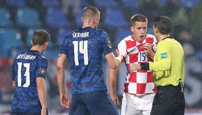Хорватия сыграла вничью со Словакией и опустилась на второе место отборочной группы H