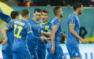 Украина поднялась на 26-е место в рейтинге ФИФА