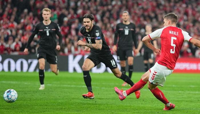 Дания победила Австрию и оформила прямую путевку на ЧМ-2022