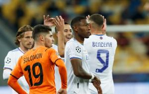 Українські клуби ще не забивали в цьому розіграші групового етапу ЛЧ