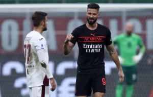 Милан на своем поле победил Торино и единолично возглавил Серию А