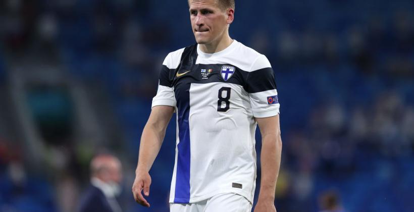 Хавбек сборной Финляндии Лод: «Украинцы вынудили нас много бегать и в концовке мы подустали»
