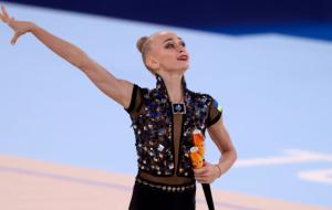 Українська гімнастка Онопрієнко виграла чотири медалі на Гран-прі в Марбельї