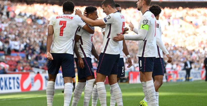 Англия разгромила Андорру и укрепила лидерство в своей группе