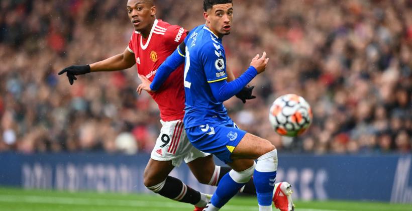 Манчестер Юнайтед на своєму полі зіграв внічию з Евертоном