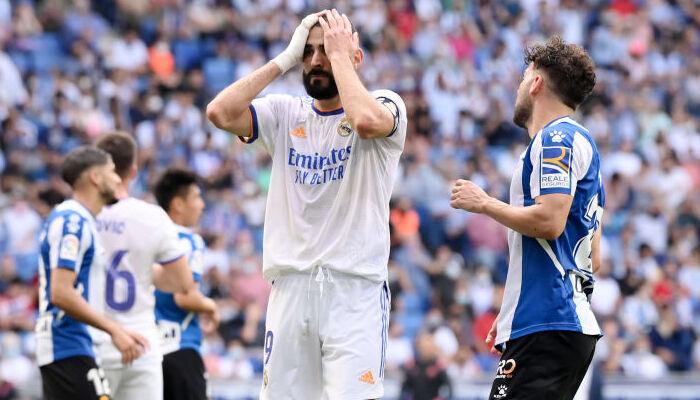 Реал на выезде неожиданно уступил Эспаньолу