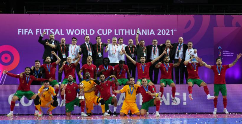 Португалія перемогла Аргентину і стала чемпіоном світу з футзалу
