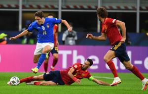 Италия — Испания. Видео обзор матча за 6 октября