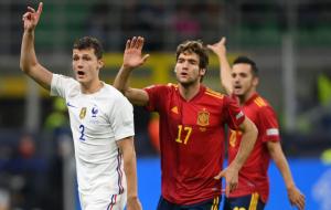Испания — Франция. Видео обзор матча за 10 октября