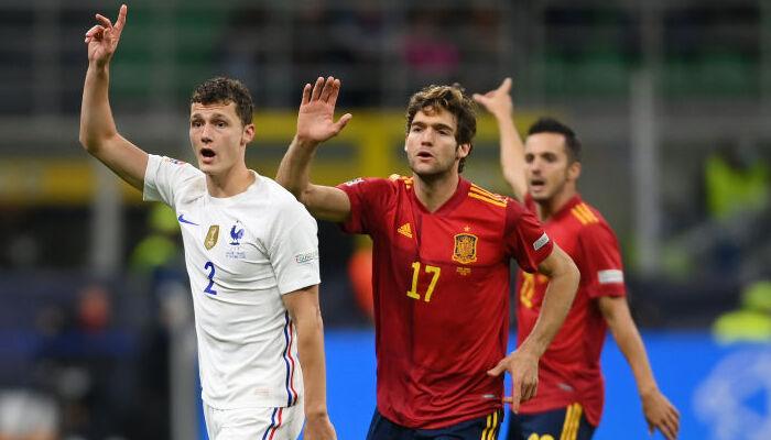 Испания — Франция. Видео голов и обзор матча