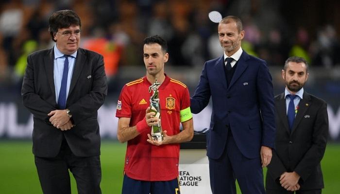 Бускетс признан лучшим игроком «Финала четырех» Лиги наций