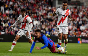 Барселона несподівано програла Райо Вальєкано