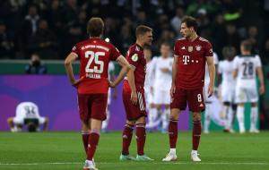 Баварія несподівано розгромно програла менхенгладбахській Борусії у Кубку Німеччини