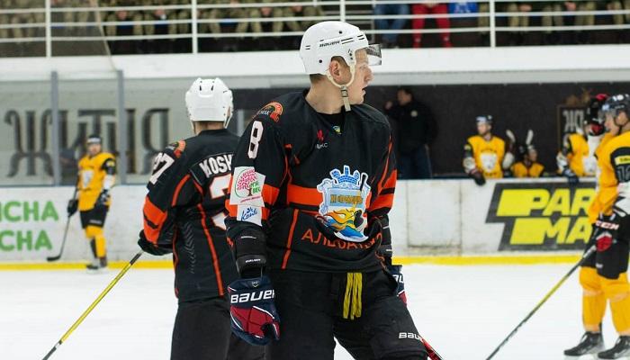 Форвард Кременчука Савченко забив найшвидшу шайбу нинішнього сезону УХЛ