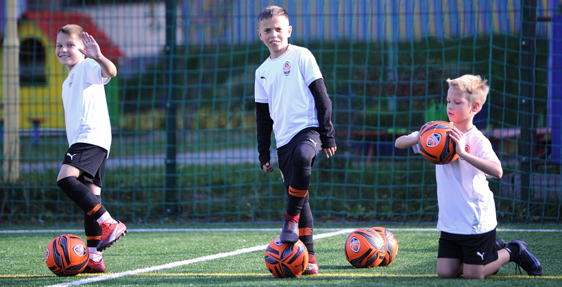 Шахтар відкрив футбольну школу в Києві