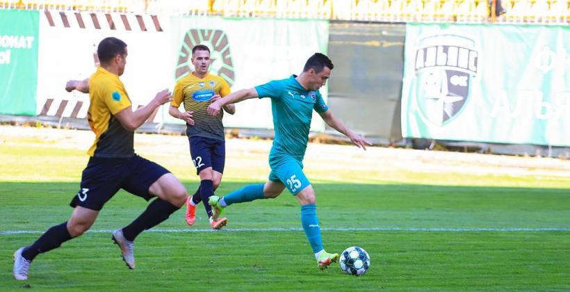 Альянс в зрелищном матче обыграл Агробизнес и вышел на второе место в Первой лиге