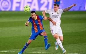 Барселона — Реал Мадрид 1:2 онлайн трансляция матча