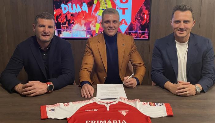 Екс-гравець Десни Діма повернувся в чемпіонат Румунії