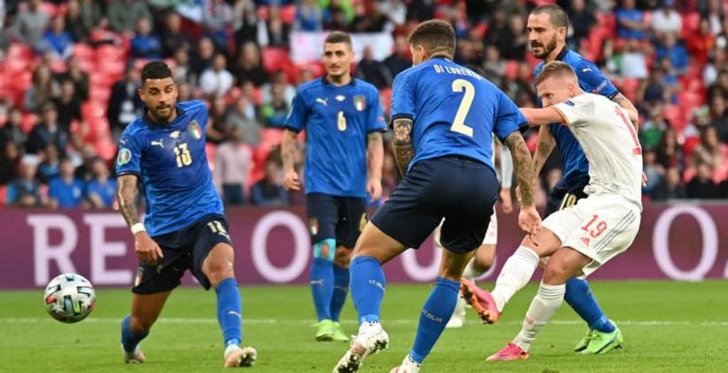 Италия Испания онлайн трансляция