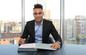Інтер підтвердив підписання контракту з Лаутаро Мартінесом до 2026 року