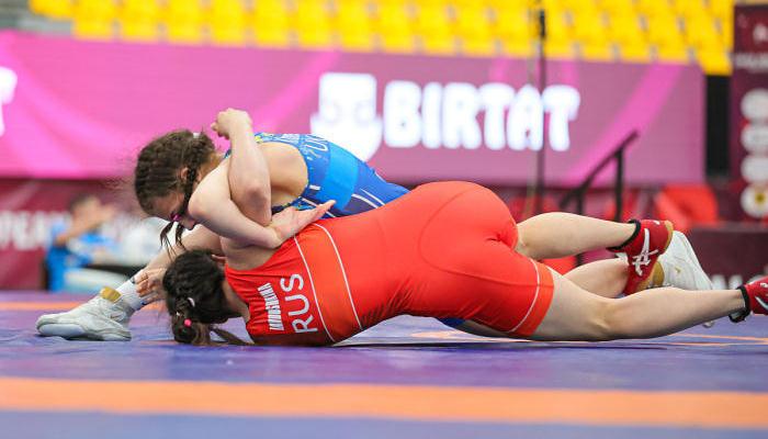 Украинка Хоменец выиграла бронзу чемпионата мира по борьбе