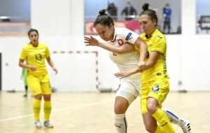 Женская сборная Украины по футзалу стартовала с победы в основном раунде квалификации Евро-2022
