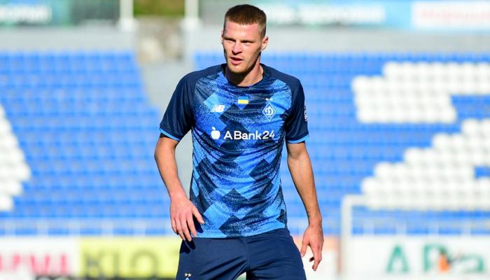 Защитник Динамо Бурда провел первый официальный матч с июля 2020 года